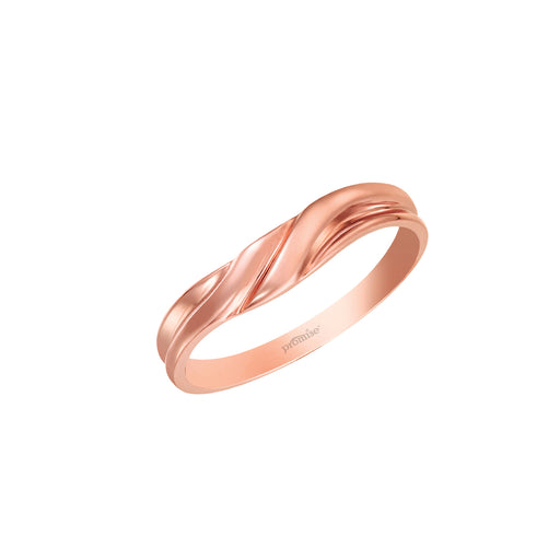 Joyous Promise Male Wedding Ring (18K Gold)