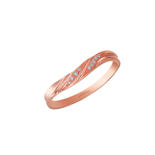 Joyous Promise Female Wedding Ring (18K Gold)
