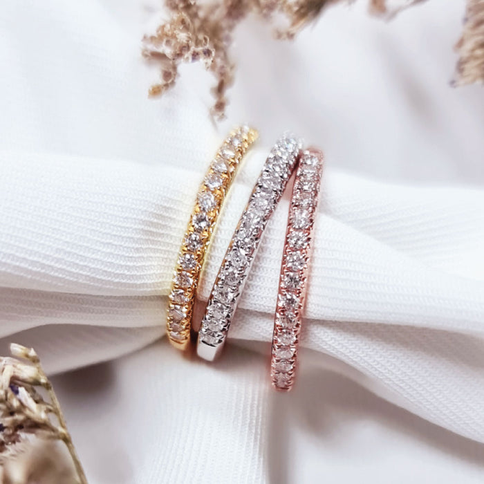 (Pre-Order) Eternity Stacking Ring 10k Gold