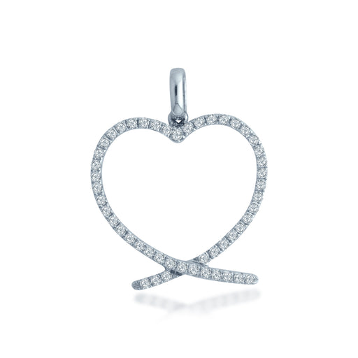 Love Meets 18K Gold Diamond Pendant