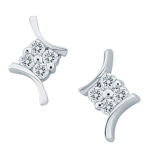 Indra Diamond Earrings (18K Gold)