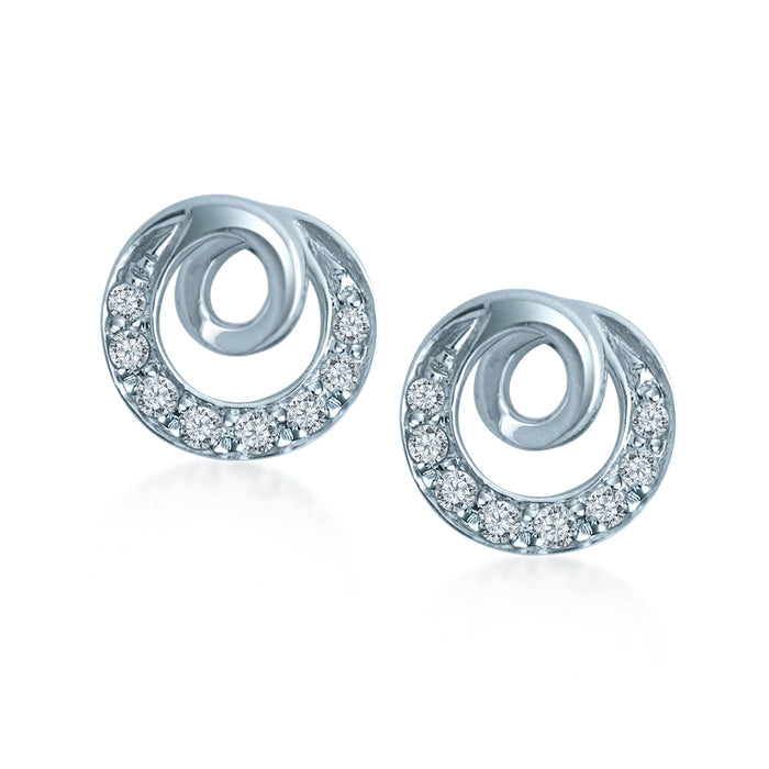 Avery Diamond Earrings (18K Gold)