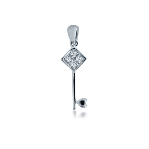 Harmonious Joy Diamond Pendant (18K Gold)