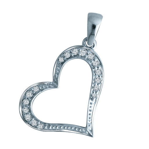 Evie Diamond Pendant (18K Gold)