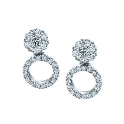 Gwyneth Convertible Diamond Earrings