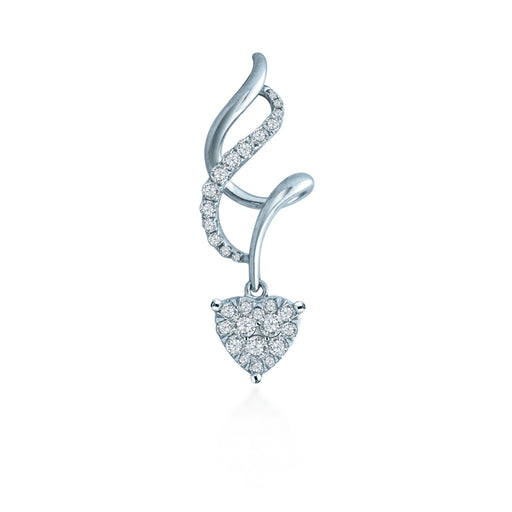 Alessandra Diamond Pendant (18K Gold)