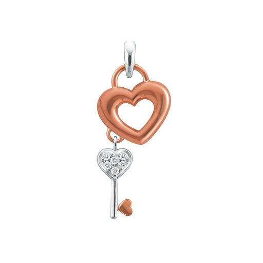 Dashing Heart Diamond Pendant (18K Gold)