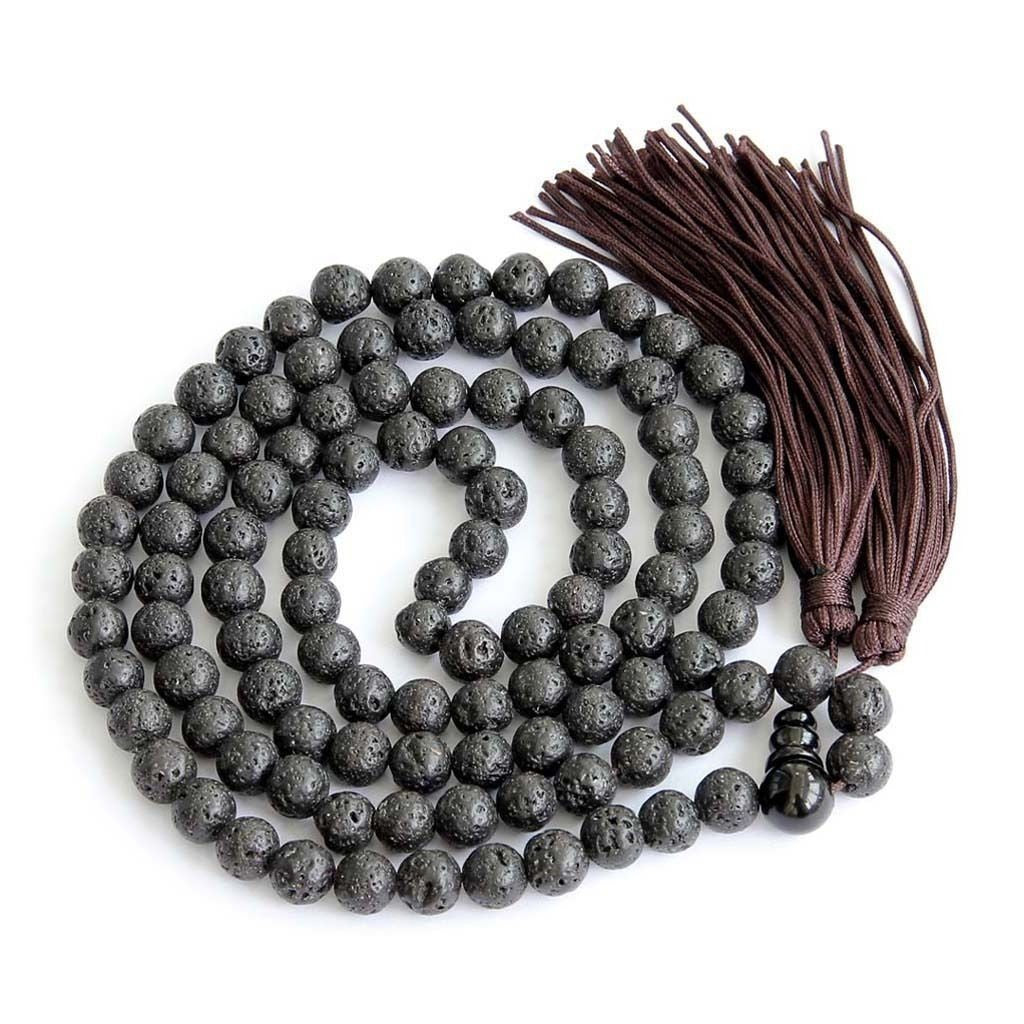 Ground Me Lava Rock Mala