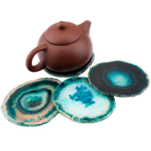 Agate Slices Geode Cup Mat