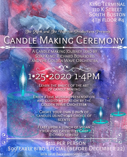 Candle Making Ceremony