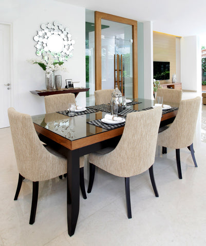 Presidio Dining Table and Dining Chair