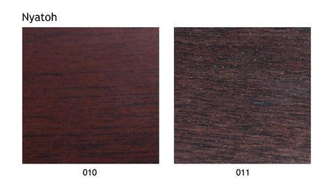 Nyatoh wood swatch