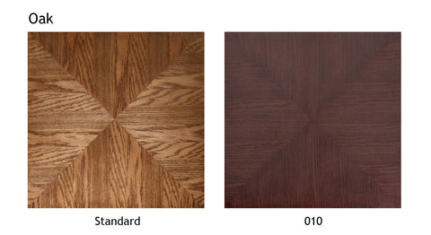 Oak wood swatch