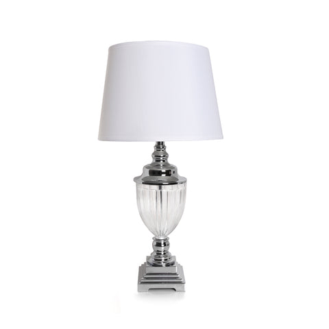 Alegria Glass Table Lamp - Vinoti Living