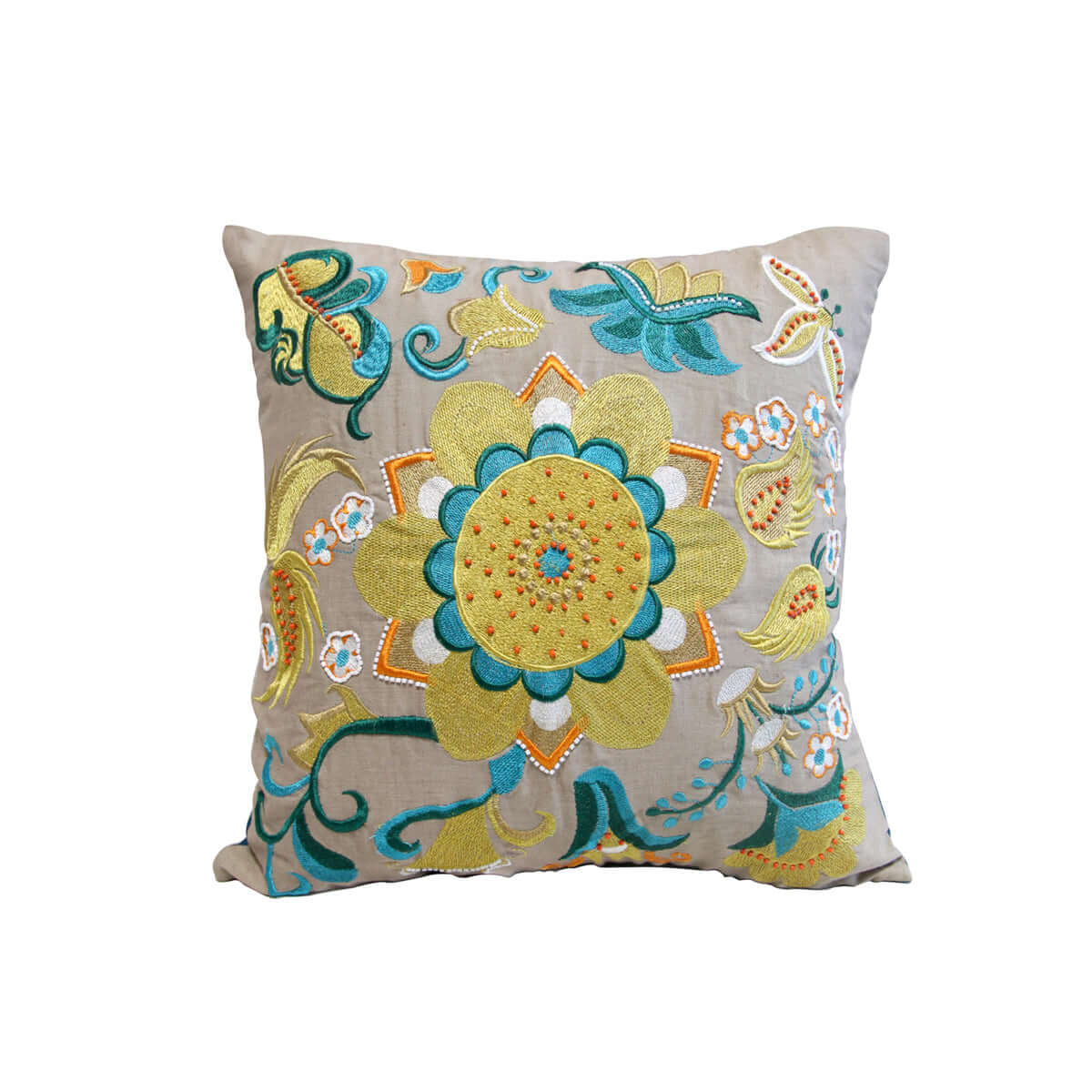 Alia Floral Cushion Cover (without insert)