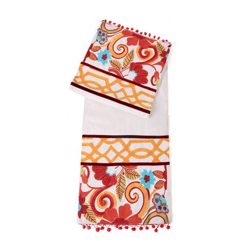 Alia Red Flora Runner