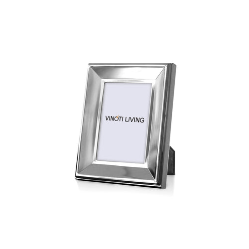 photo frame - Aliya Bevel Photo Frame - Silver - vinoti living - decor dan accessories di indonesia