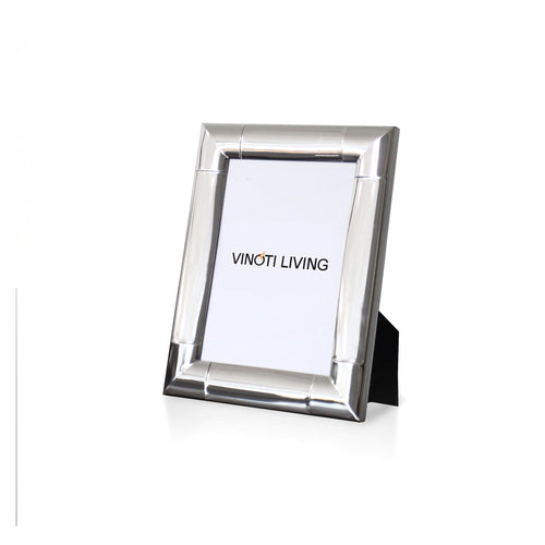 photo frame - Aliya Corner Photo Frame - Silver - vinoti living - decor dan accessories di indonesia