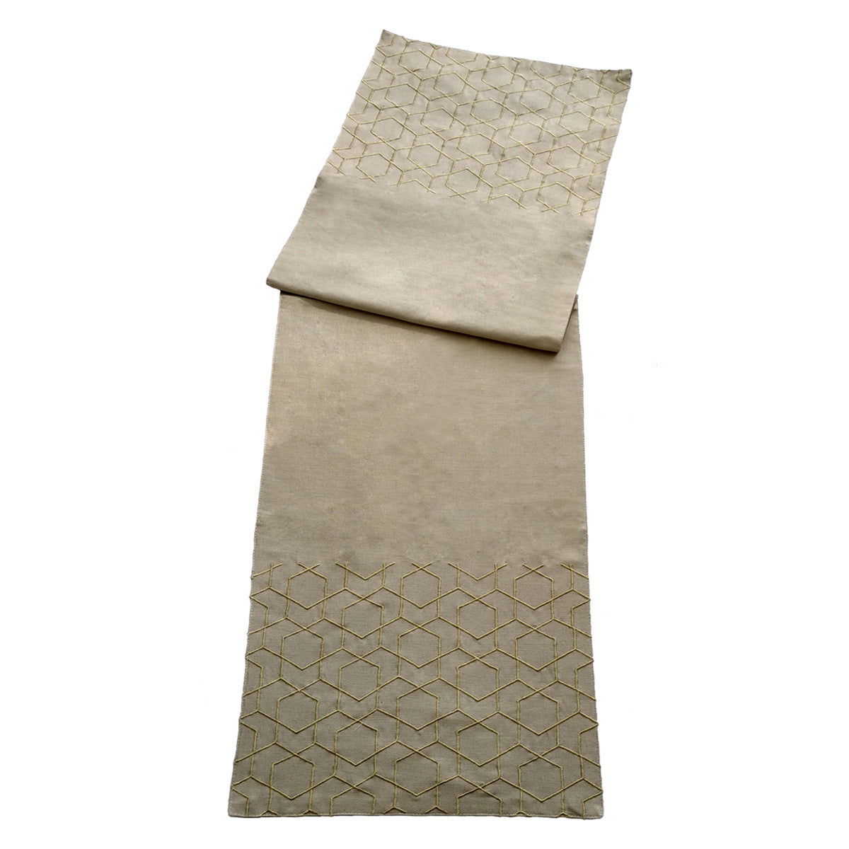 Aliya Lattice Runner - Cream