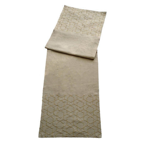 Aliya Lattice Runner - Cream - Vinoti Living