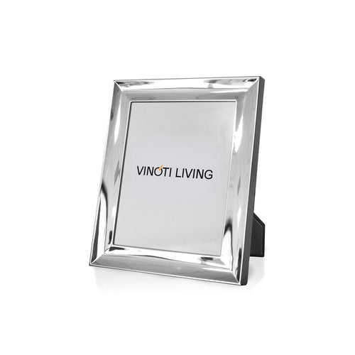 photo frame - Aliya Sleek Photo Frame - Silver - vinoti living - decor dan accessories di indonesia