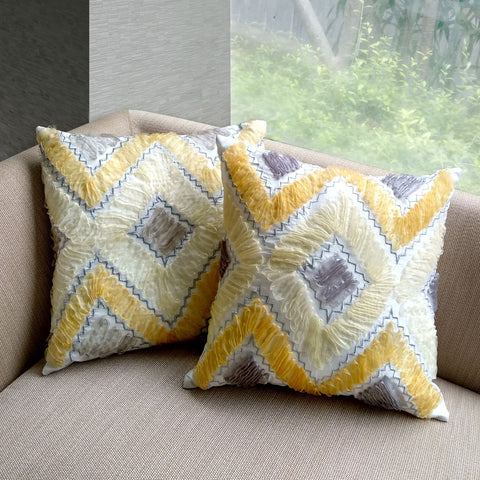 Arlene Zigzag Cushion set of 2