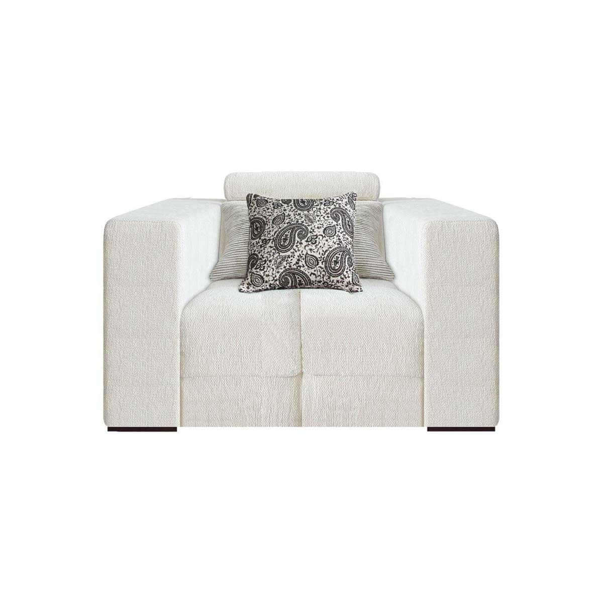 1 seat sofa with movable headrest