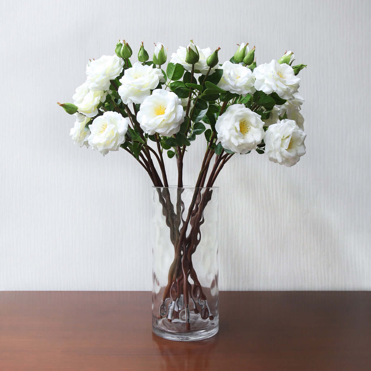 Bloom Rose X2- White