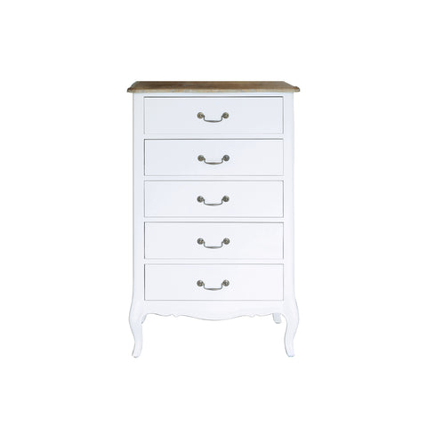 Belle Chest of 5 Drawers