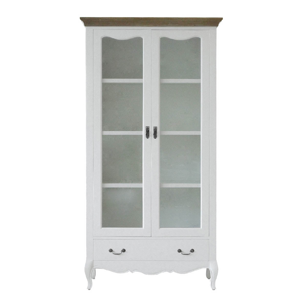 furniture showcase wood white pretty design
