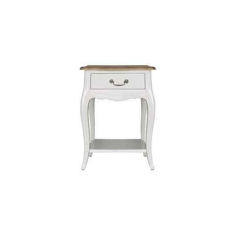 furniture wood sidetable meja curvy legs