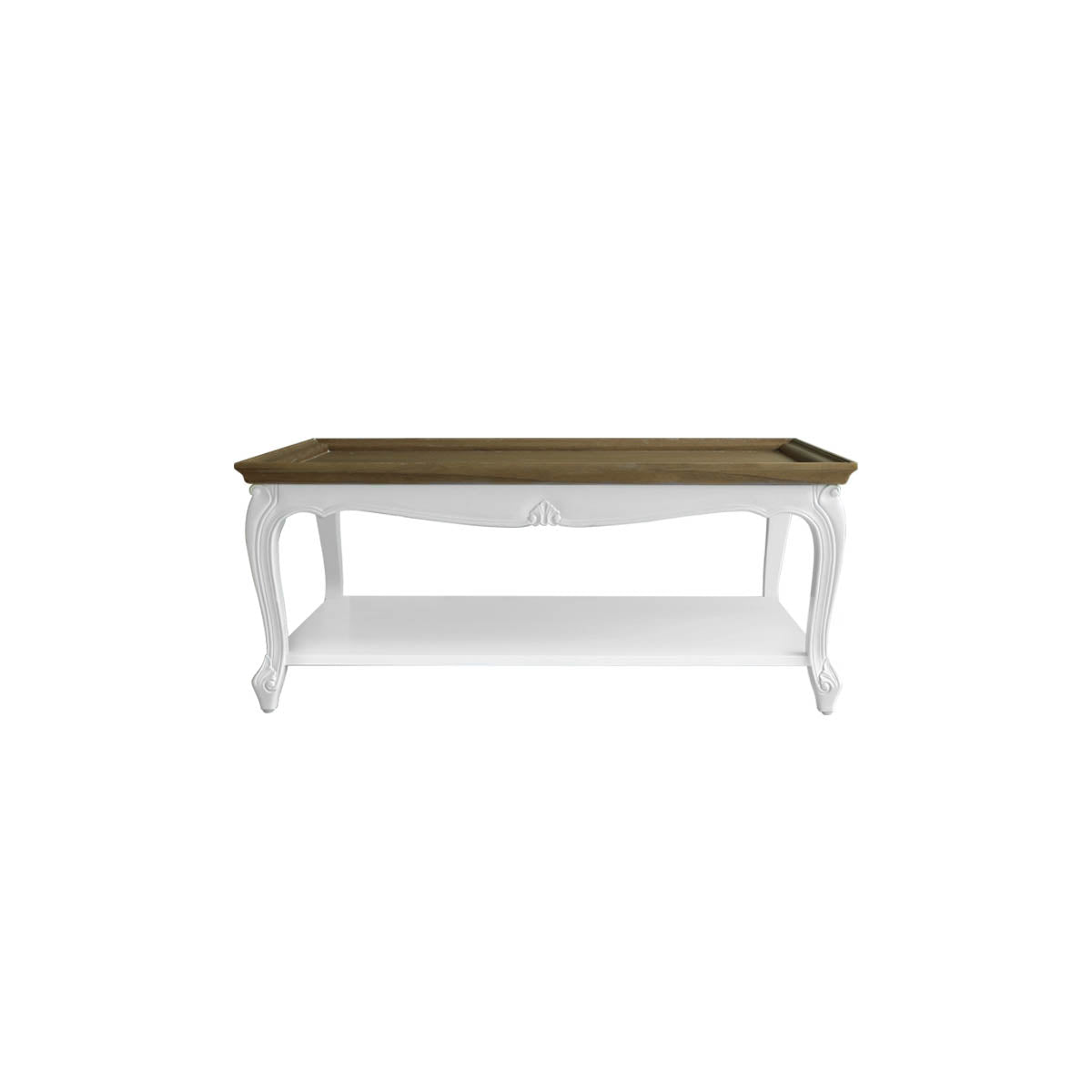 pretty and chic coffee table