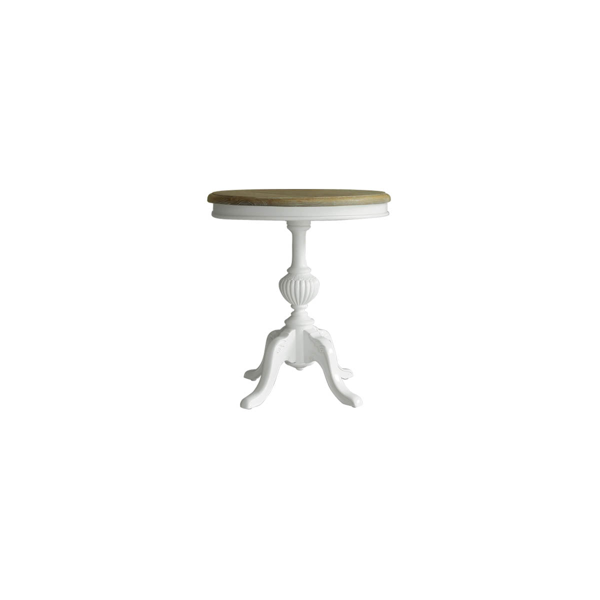 pretty and chic round side table