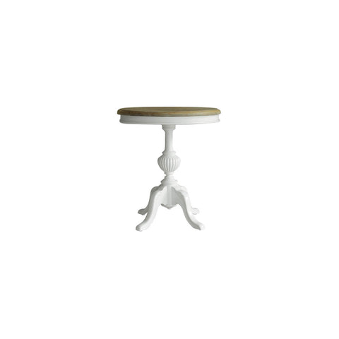 wood side table meja curvy