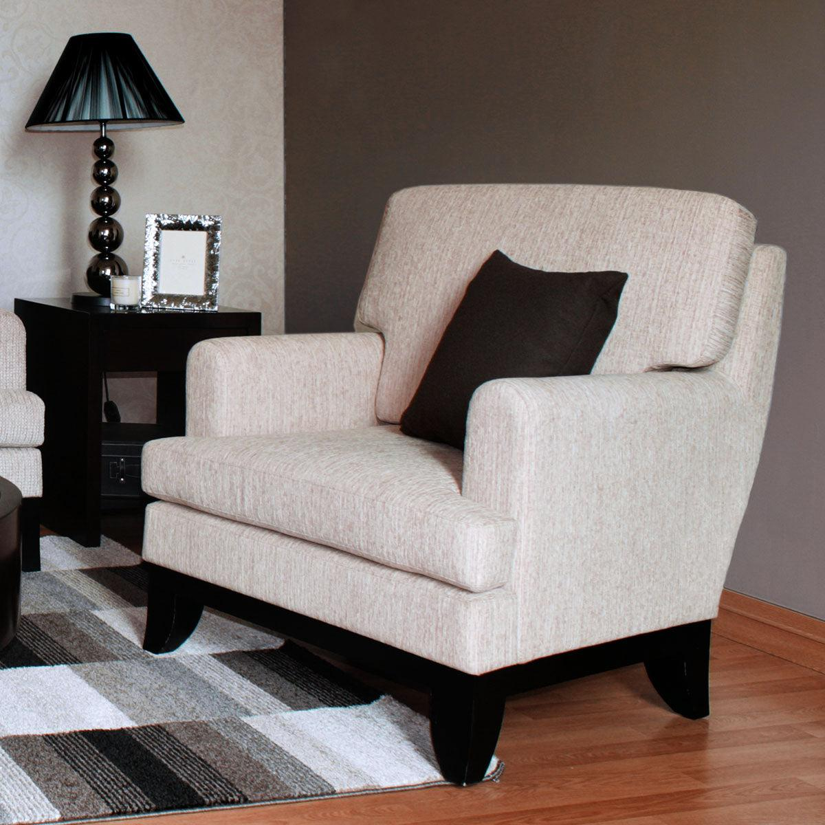 furniture jakarta one seat sofa classy wood