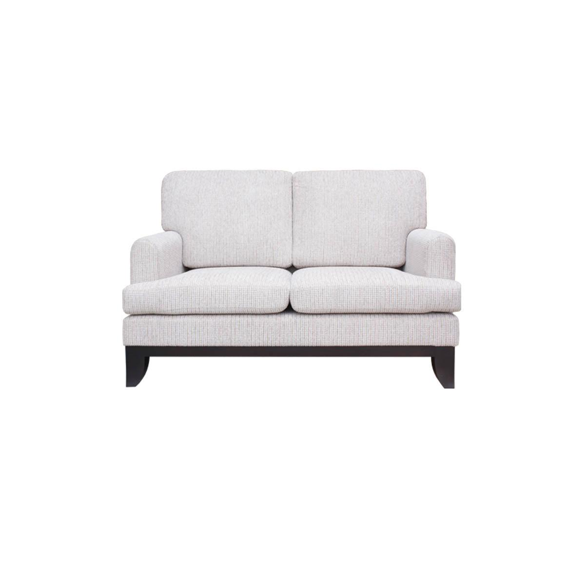 Boston two seat wing armed sofa chair