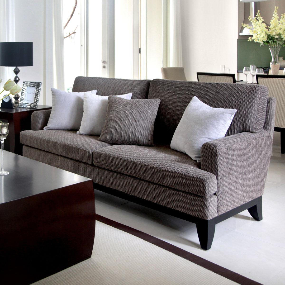 furniture palembang three seat sofa wood jakarta