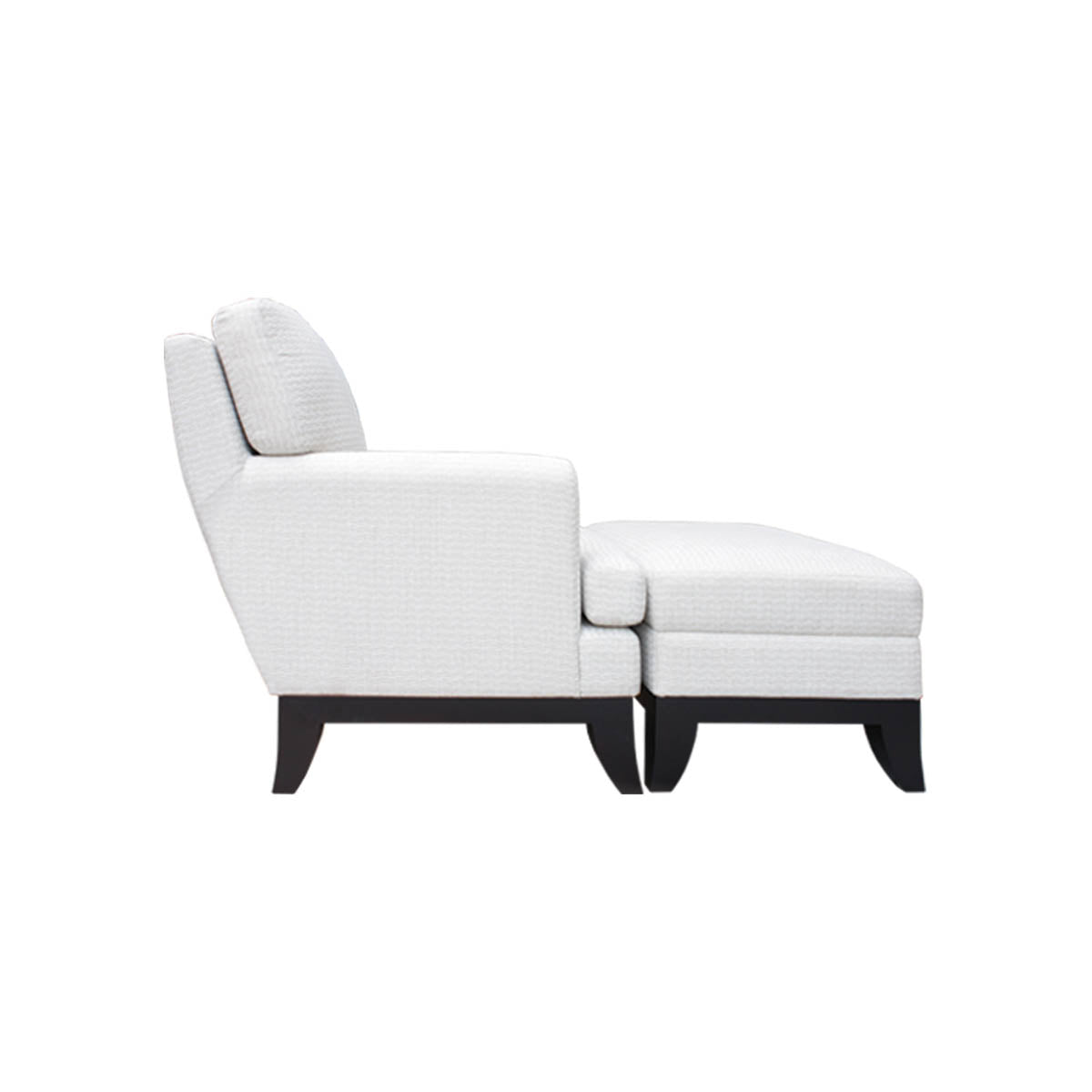 Boston Wing Chair Ottoman Vinoti Living