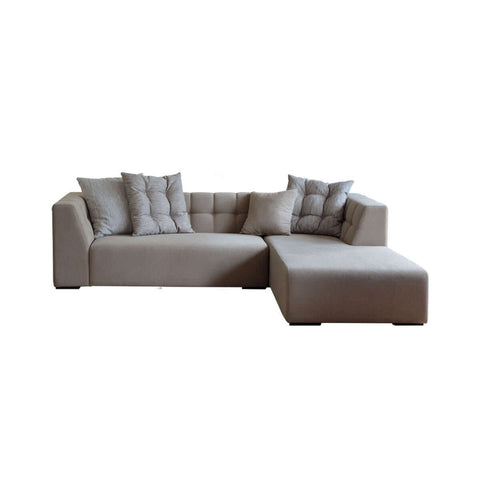 2 seat L-shape stylish sofa