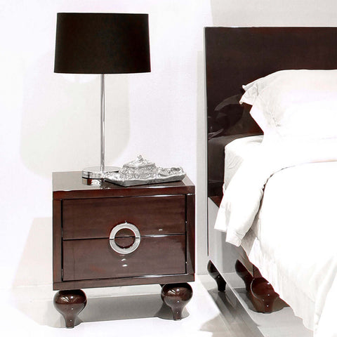 Camille Bedside Table - Vinoti Living