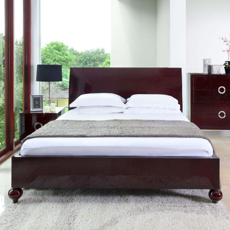 a beautiful yet unique camille bed