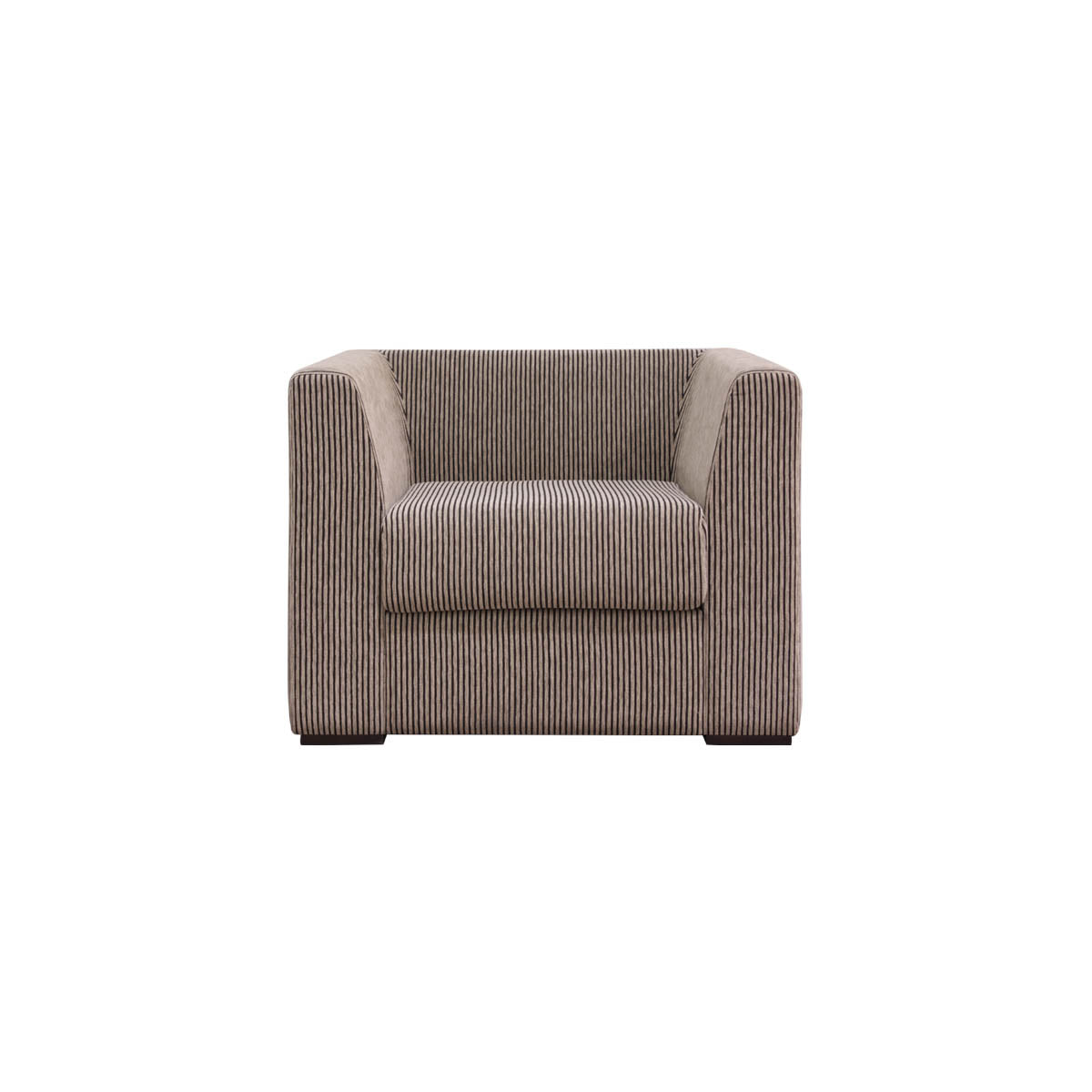 city line 1 seat simple and neat sofa