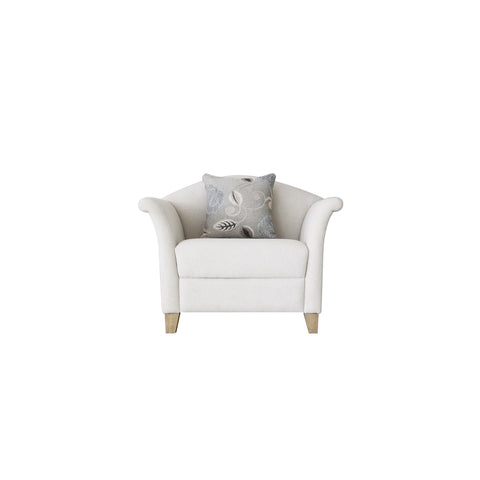classic pretty curvy modern sofa chair