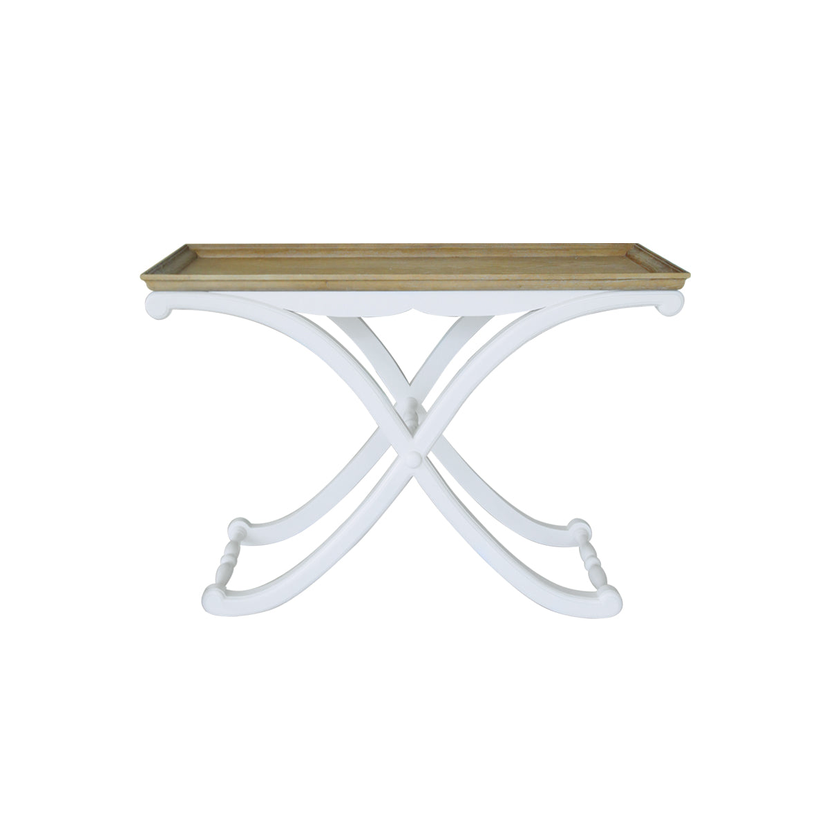 accent table curvy slim modern furniture jakarta palembang makassar