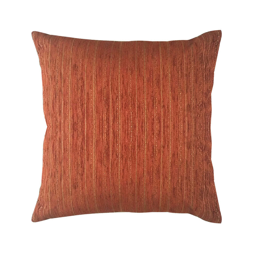 Stripe Terracotta Cushion Cover