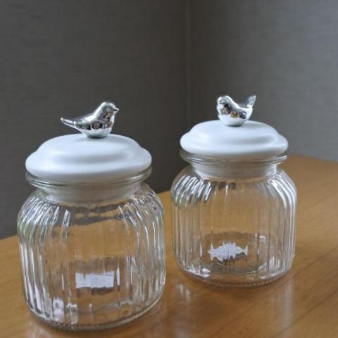 Jardin Bird Jar - set of 2