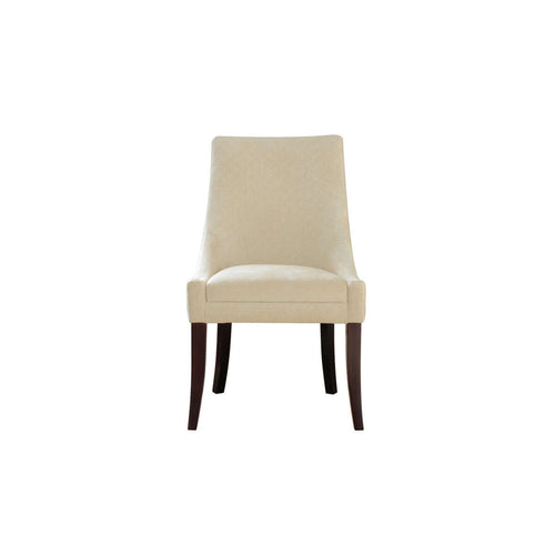 classy and simple dining room chair front view