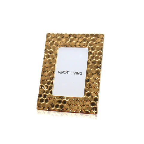 Eden Beehive Photo Frame - Gold