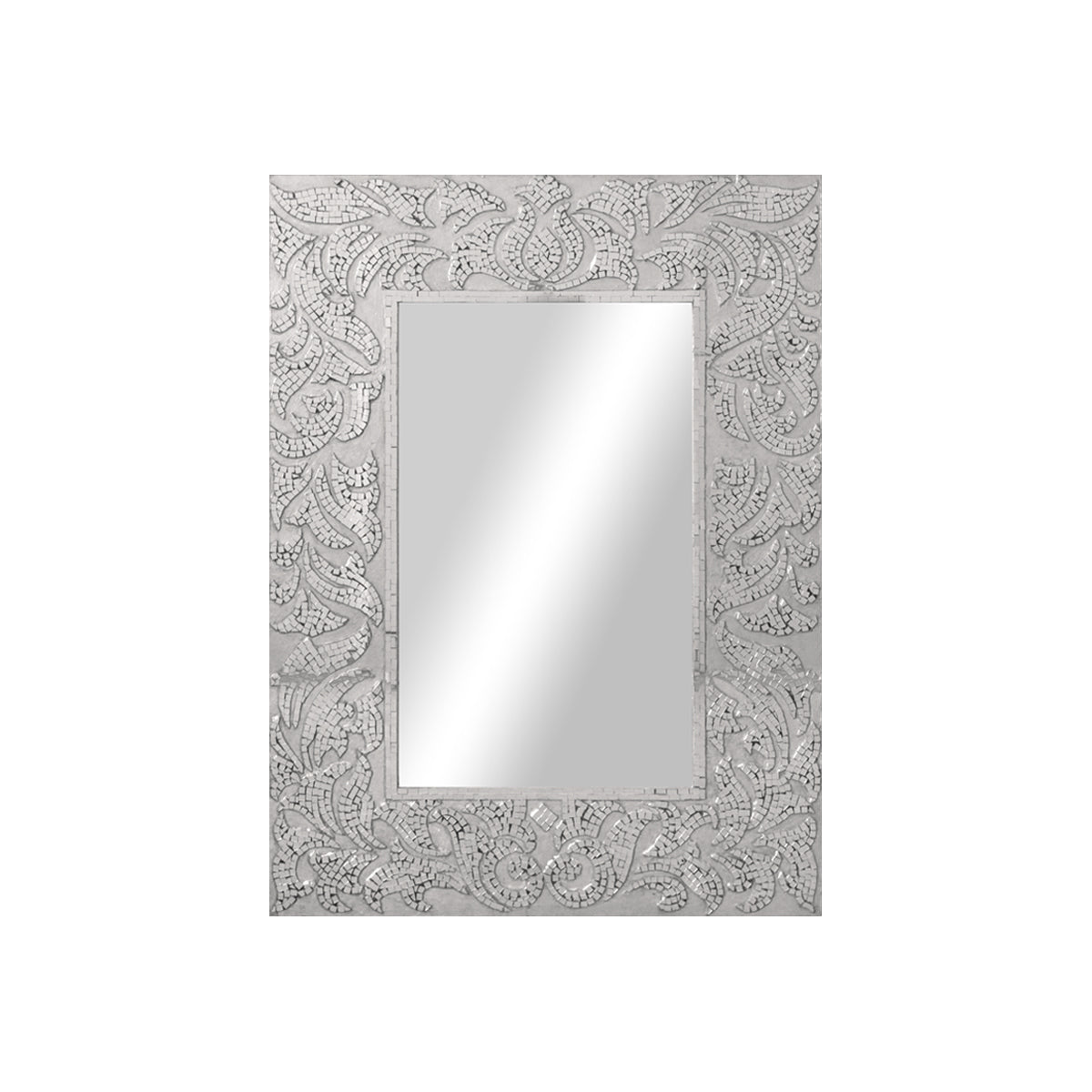 Eden Damask Mirror - Vinoti Living