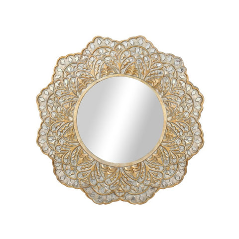 Eden Gold Sunburst Mirror - Vinoti Living
